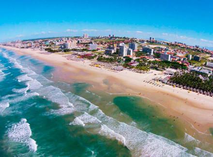 Fortaleza, CE: Hotel frente à Praia do Futuro, a melhor da cidade | Café da Manhã, Meia Pensão, Pensão Completa | Praia, Cidade, Menores Preços, Novas Ofertas, Semana do Cliente