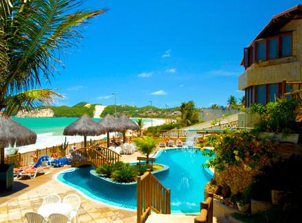 Natal, RN: Hotel à beira da Praia de Ponta Negra com 2 tipos de pensão | Café da Manhã, Meia Pensão | Praia, Cidade, Viajar com Crianças, Menores Preços, Novas Ofertas, Semana do Cliente